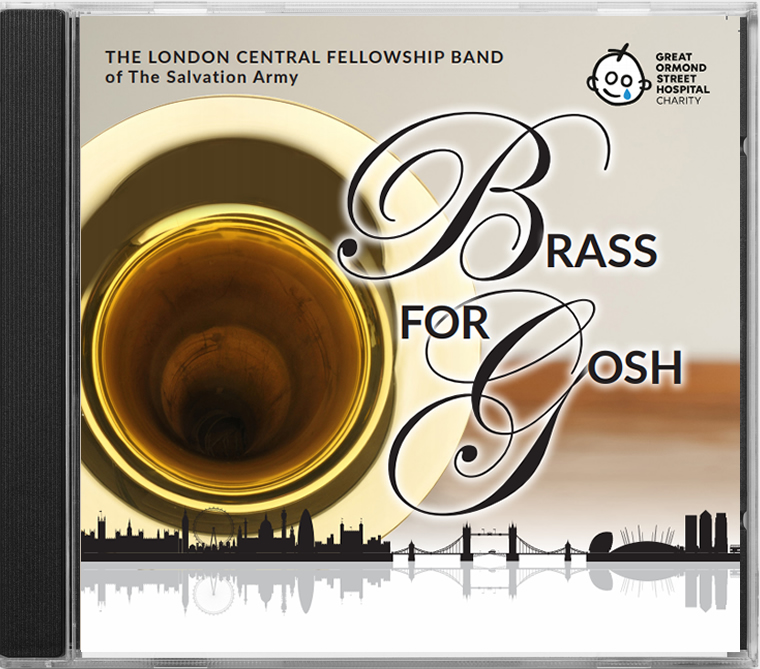 BRASS for GOSH - London Central Fellowship Band - Album Cover