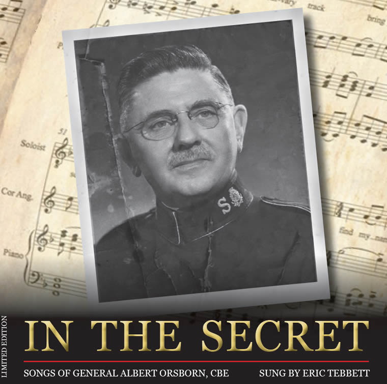 In the Secret - Songs of General Albert Orsborn - Album Cover